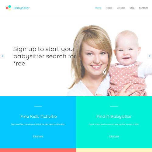 Làm website mẹ và bé 05