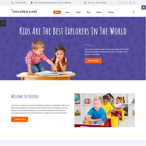 Làm website mẹ và bé 11