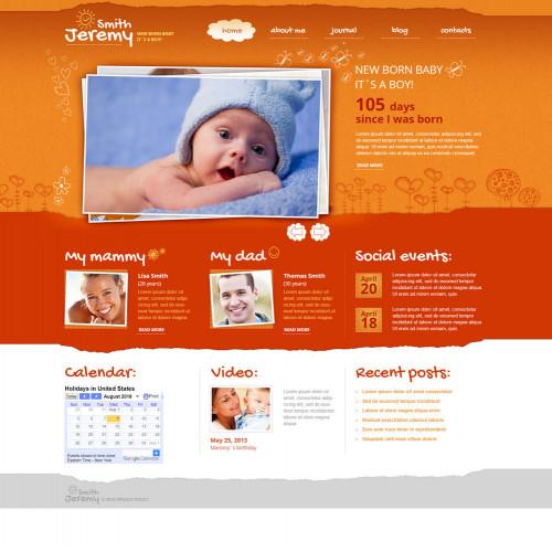Làm website mẹ và bé 36