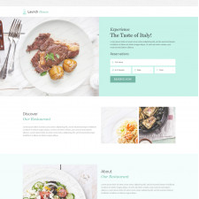 Thiết kế  Landing Page 08