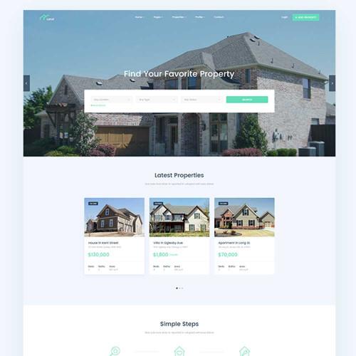 Website bất động sản 17