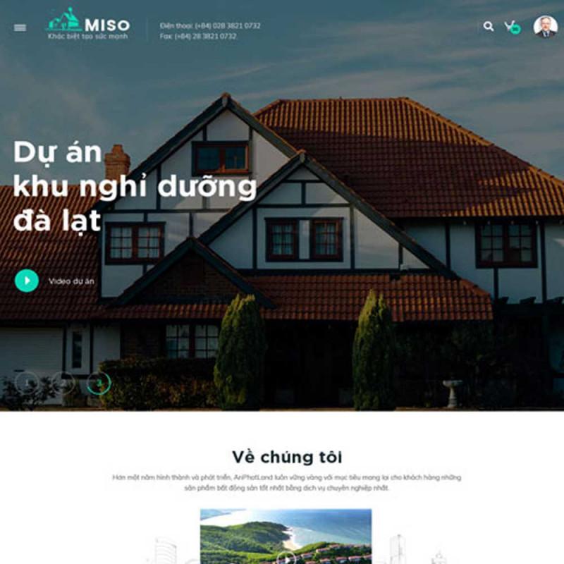 Website bất động sản 3