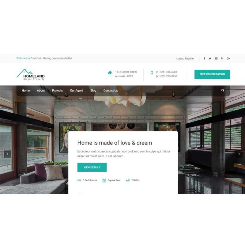 Website bất động sản 39