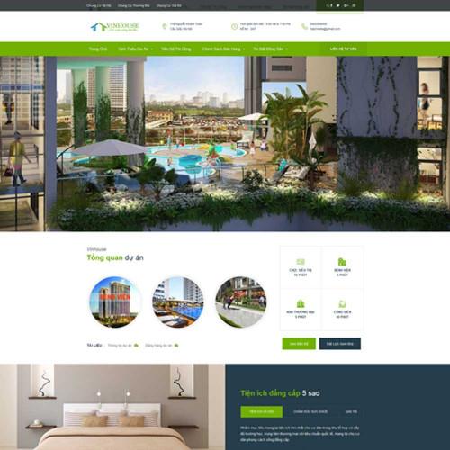 Website bất động sản 5