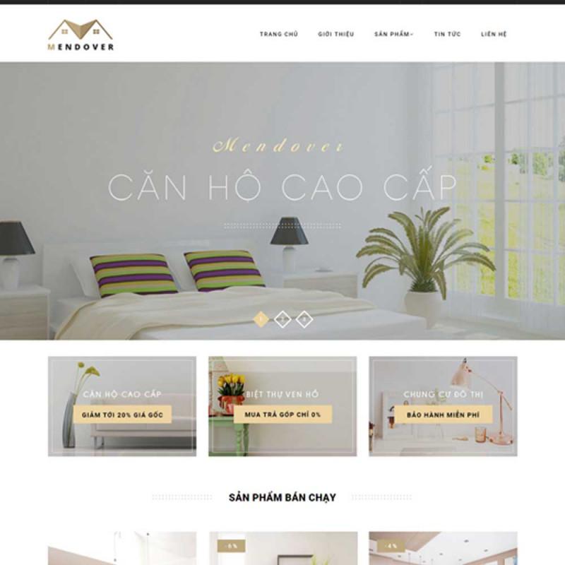 Website bất động sản 6