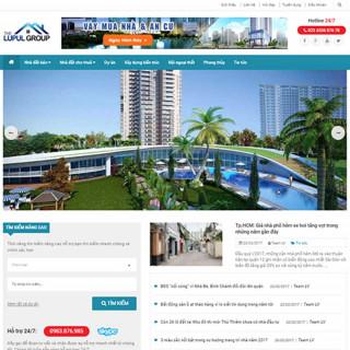 Website bất động sản 7
