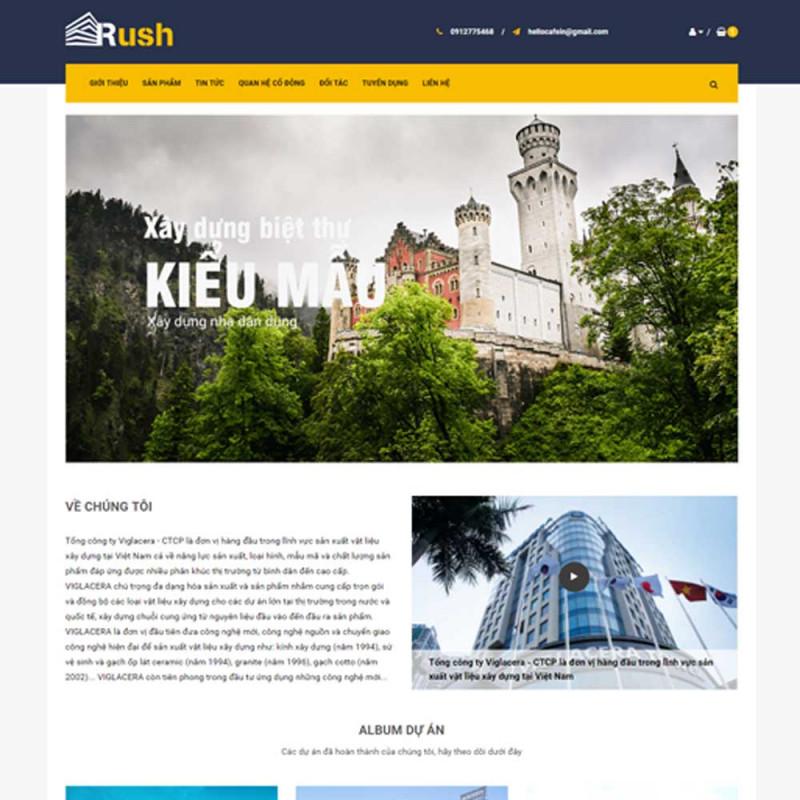 Website bất động sản 8
