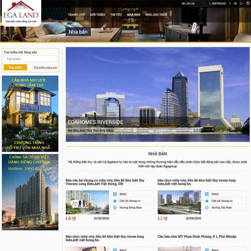 Website bất động sản 1