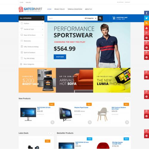 Làm website shop điện tử 01
