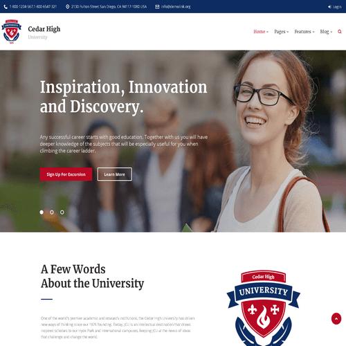 Làm website giáo dục 08