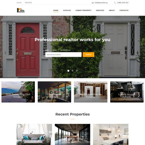 Làm website bất động sản 13
