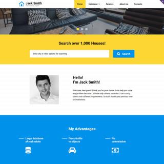 Làm website bất động sản 24