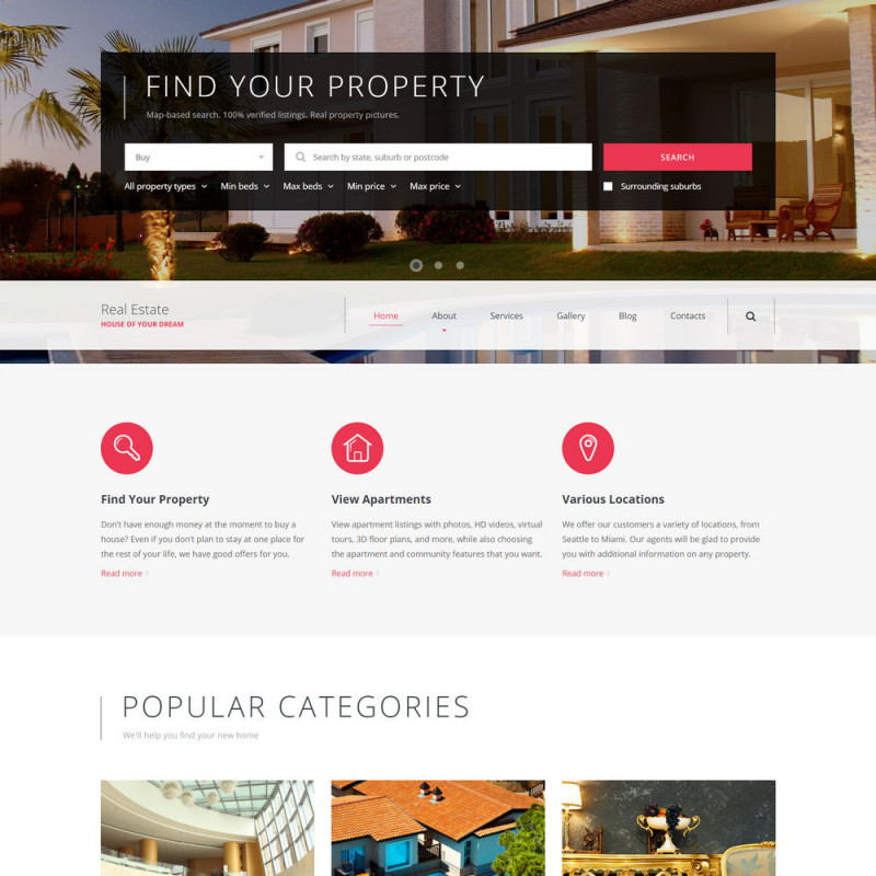 Làm website bất động sản 26
