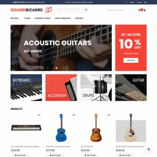 Làm website nhạc cụ 03