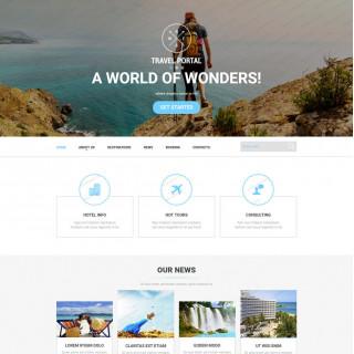 Làm website du lịch 01