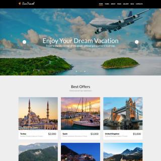 Làm website du lịch 07