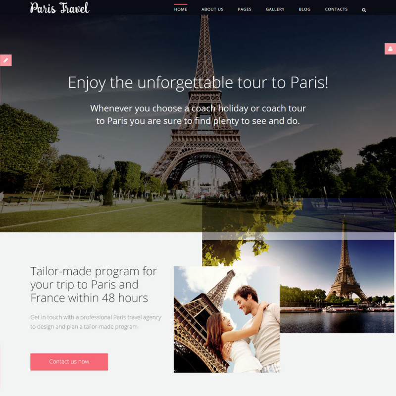Làm website du lịch 11