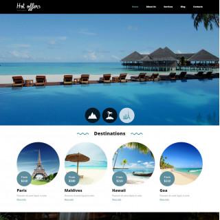 Làm website du lịch 37