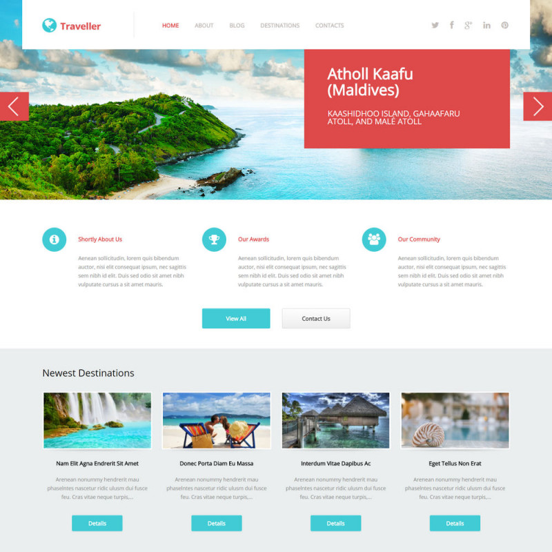 Làm website du lịch 43