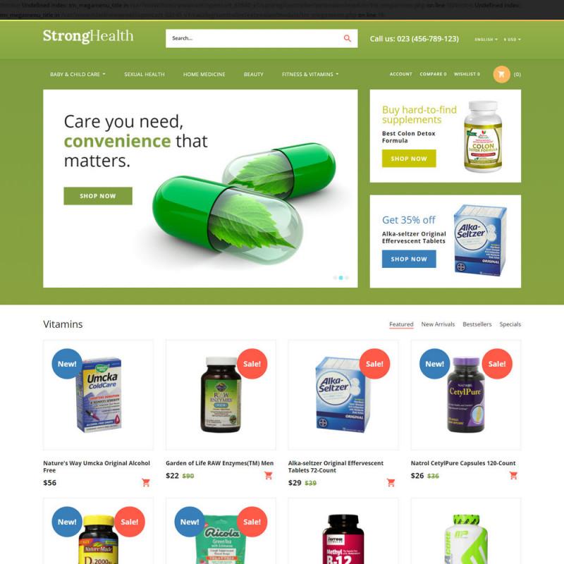 Làm website dược phẩm 02