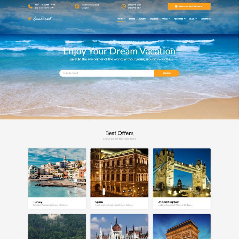 Làm website du lịch 02
