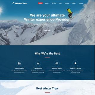 Làm website du lịch 03