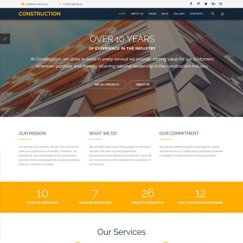 Làm website dịch vụ 40