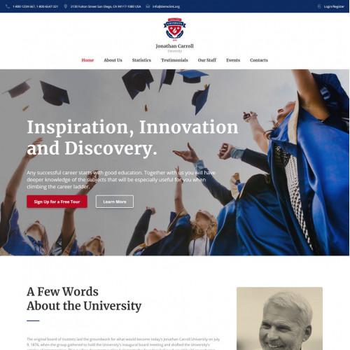 Làm website giáo dục 10