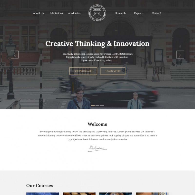 Làm website giáo dục 12