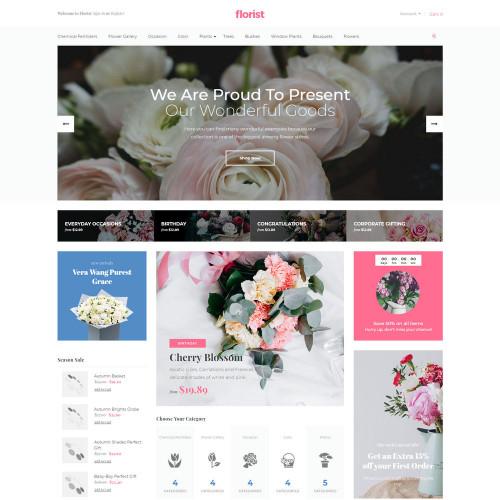 Làm website hoa tươi 04