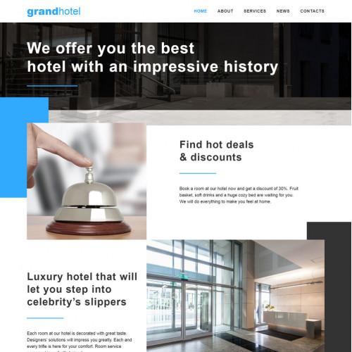 Làm website Khách Sạn 08