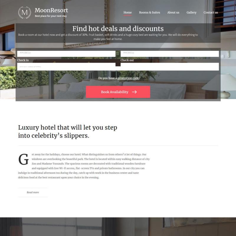 Làm website Khách Sạn 15