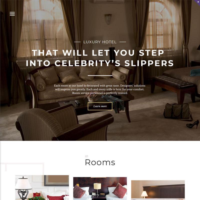 Làm website Khách Sạn 18