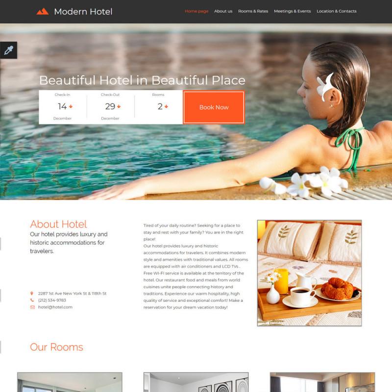 Làm website Khách Sạn 19