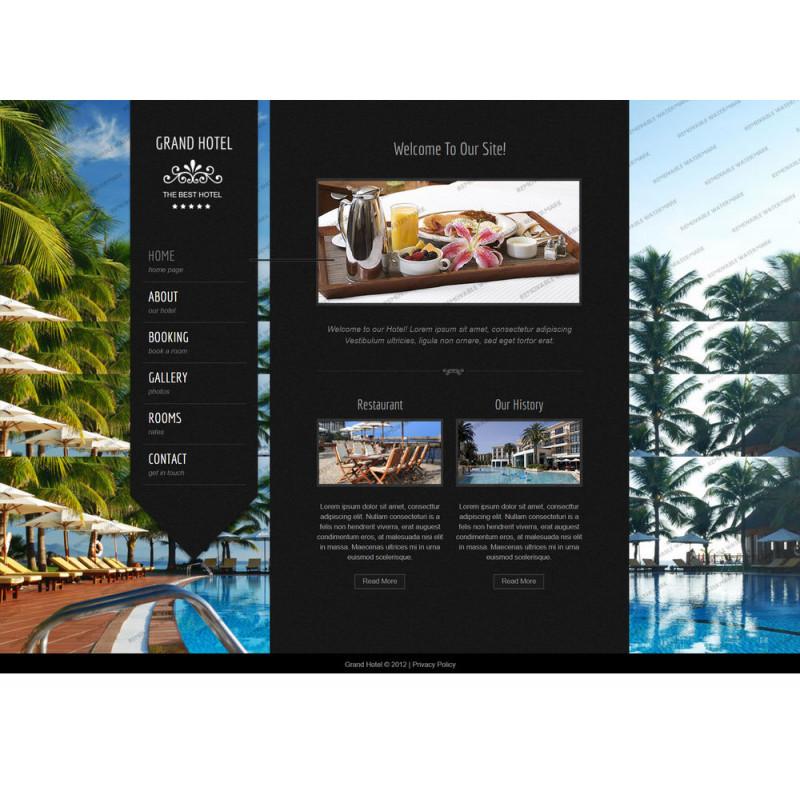 Làm website Khách Sạn 47