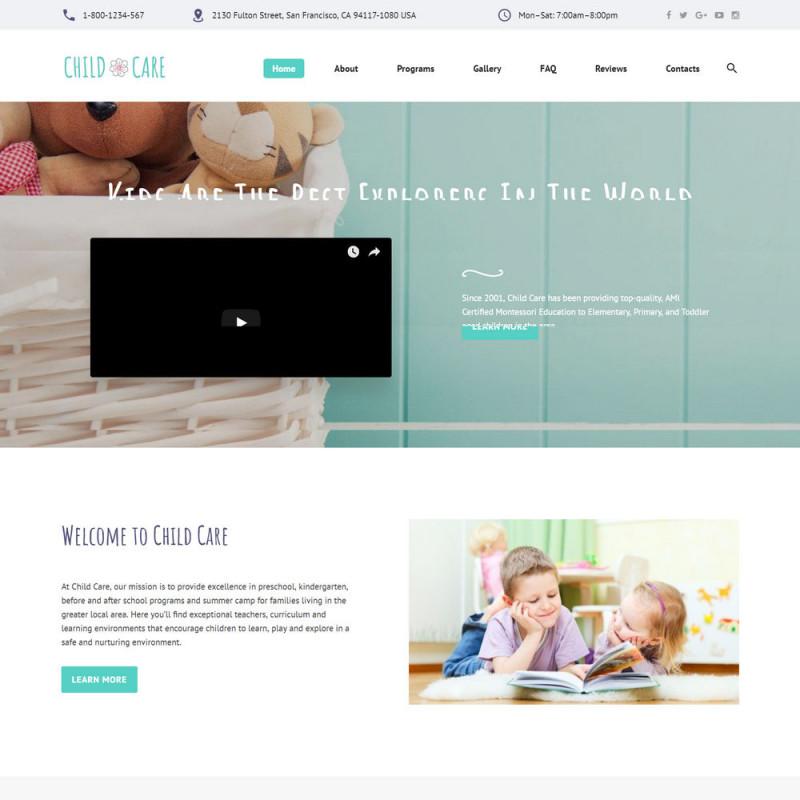 Làm website mẹ và bé 02