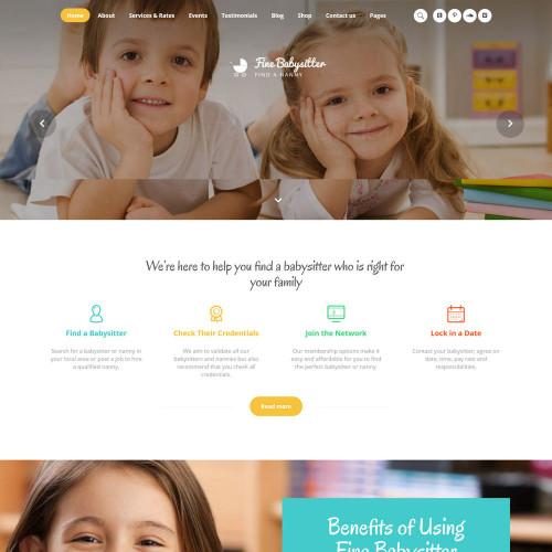 Làm website mẹ và bé 04