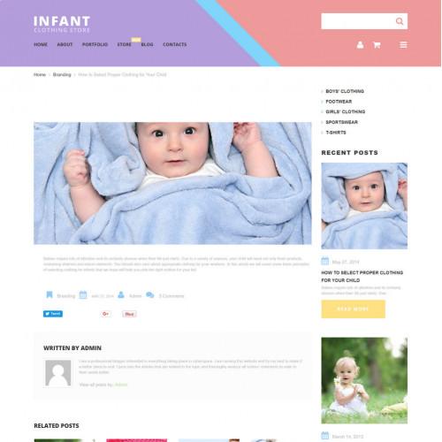 Làm website mẹ và bé 22