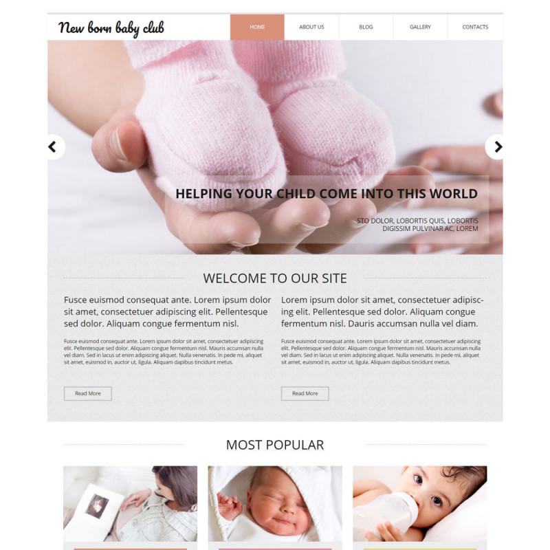 Làm website mẹ và bé 29