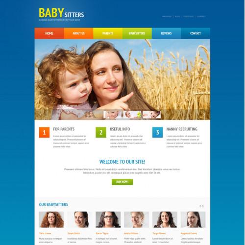 Làm website mẹ và bé 38
