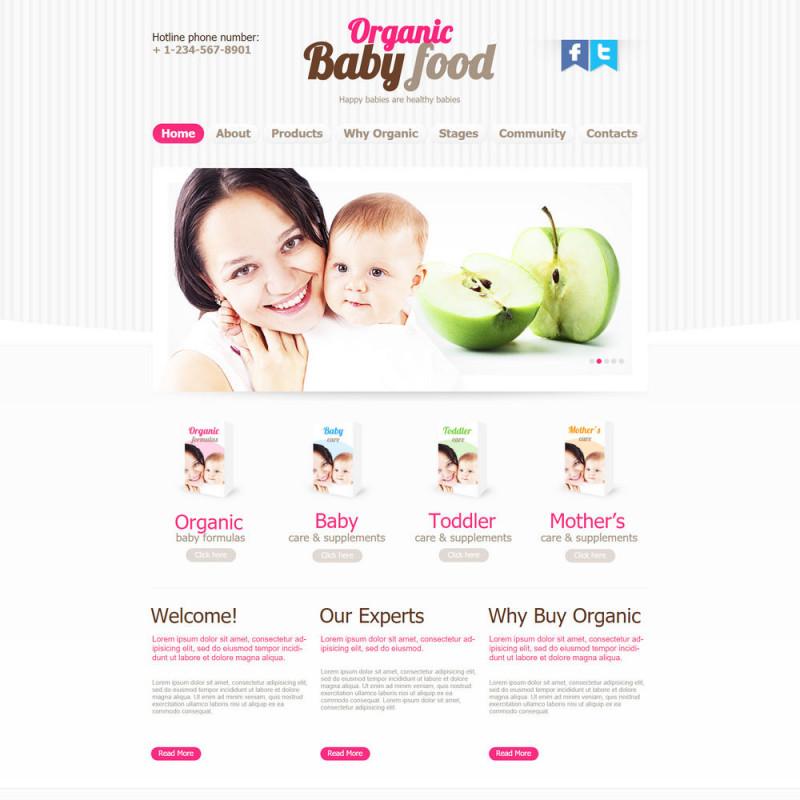 Làm website mẹ và bé 41