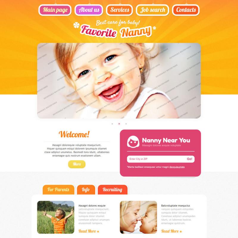 Làm website mẹ và bé 49