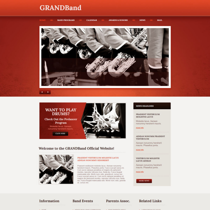 Làm website nhạc cụ 14