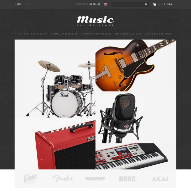 Làm website nhạc cụ 15