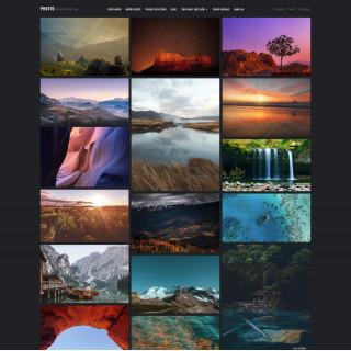 Làm website nhiếp ảnh 01