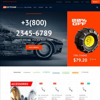 Làm website ô tô 01