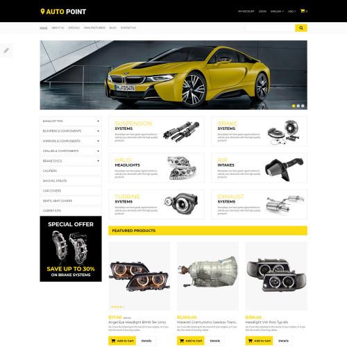 Làm website ô tô 02