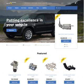 Làm website ô tô 07