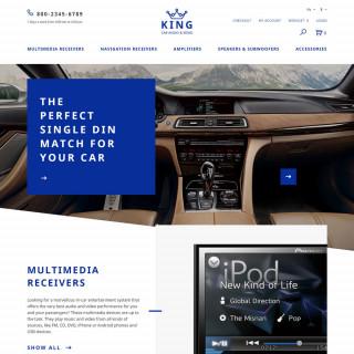 Làm website ô tô 08