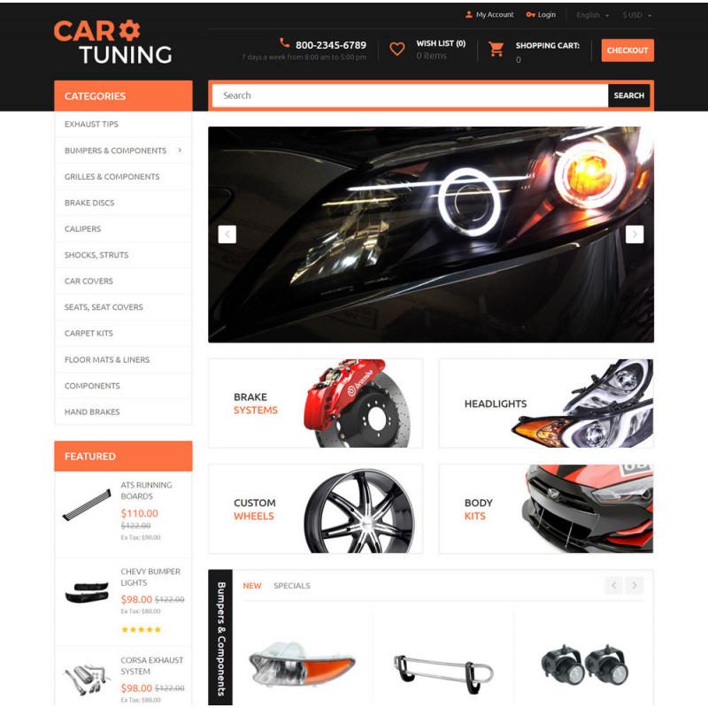 Làm website ô tô 09